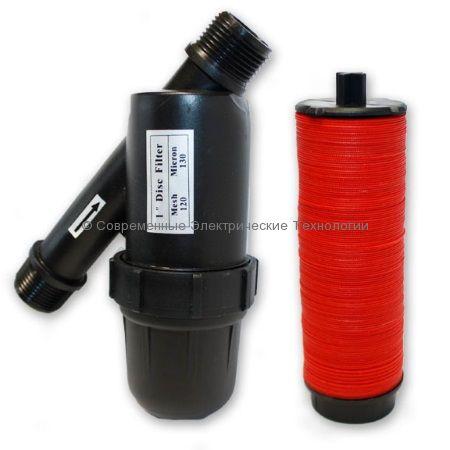Фильтр дисковый для капельного полива 120mesh НР3/4 дюйма (1725D120M)