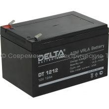 Аккумулятор DELTA 12В 12Ач (DT 1212)