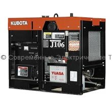 Дизельный генератор с водяным охлаждением J106 Kubota