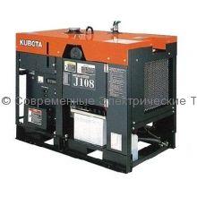 Дизельный генератор с водяным охлаждением J108 Kubota