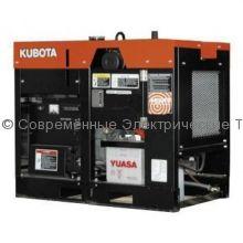 Дизельный генератор с водяным охлаждением J112 Kubota