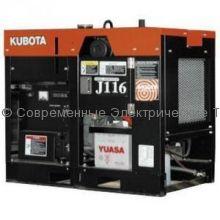 Дизельный генератор с водяным охлаждением J116 Kubota