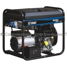 Дизельный генератор 11.25кВА/9кВт с воздушным охлаждением SDMO Diesel 10000 EXL C