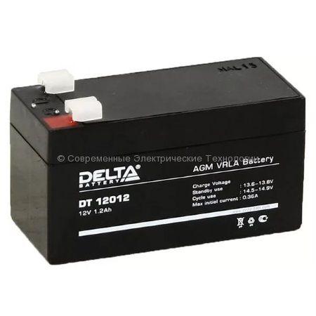 Аккумуляторная батарея DELTA 12В 1.2Ач (DT 12012)