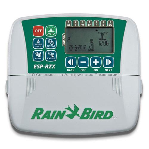 Контроллер внутренний автоматического полива на 8 зон ESP-RZX8i