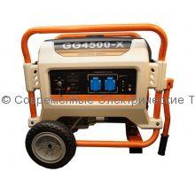 Газовый генератор 3.7кВт на раме REG (GG4500-X)