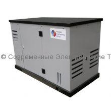 Газовый генератор с автозапуском в шумозащитном кожухе REG 9кВт (GG10-SV)