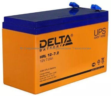 Аккумулятор DELTA 12В 7.2Ач (HRL 12-7.2)