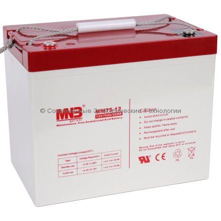 Аккумулятор MNB 12В 75Ач (MM75-12)