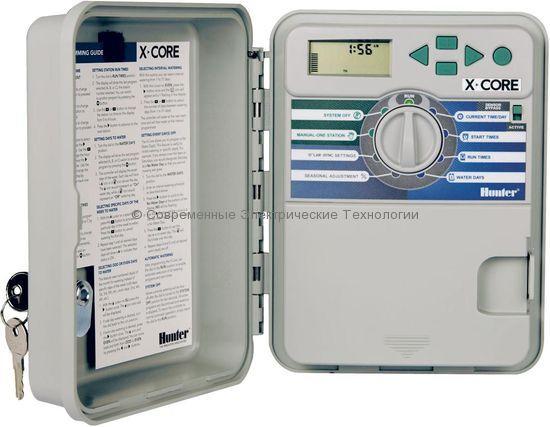Контроллер автоматического полива на 6 зон XC-601-E наружний