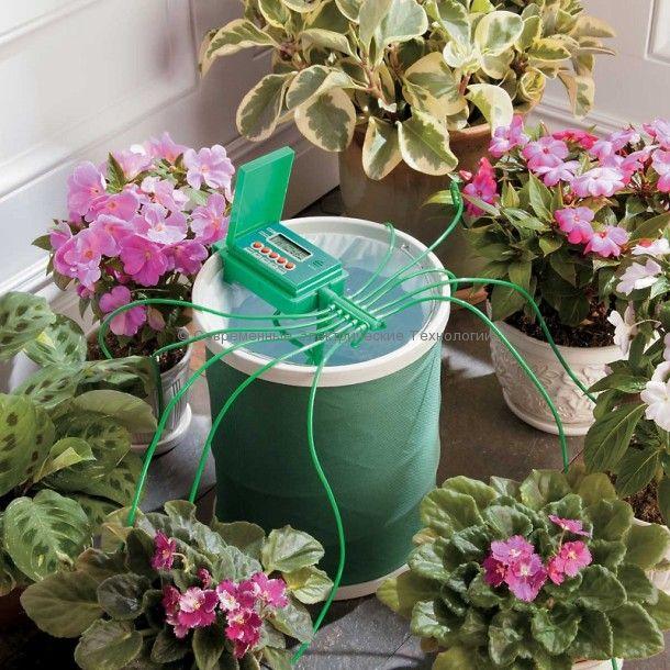 Комплект автополива для комнатных растений до 10 штук (GA-010)