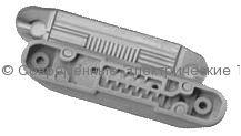 Компенсированная капельная линия VERED 24mil, д.16мм, шаг эмиттеров 50см, 1.2л/час