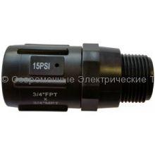 Регулятор давления 1.72бар 25psi Н3/4хВ3/4 (PR013425P)