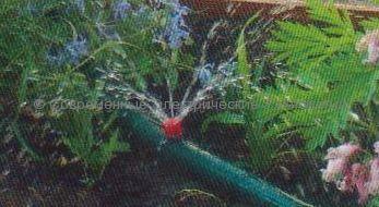 Капельница внешняя концевая регулируемая Садовая 0-40л (DNA)