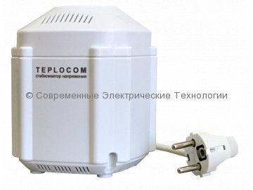 Cтабилизатор напряжения 1-фазный 222ВА Teplocom (ST-222/500)