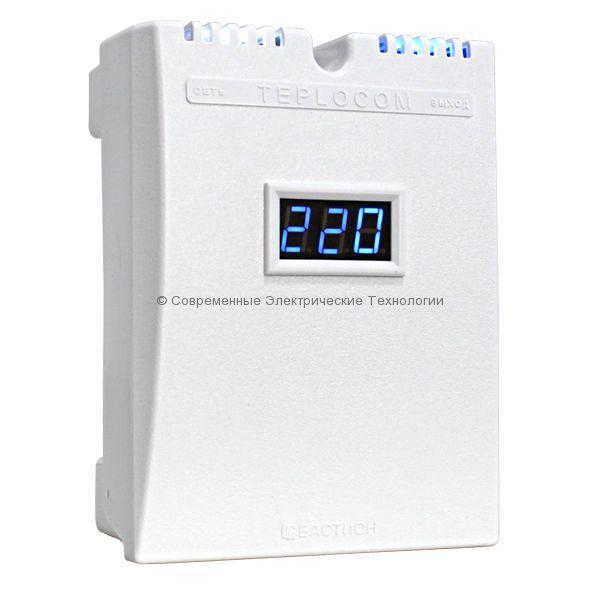 Cтабилизатор напряжения 1-фазный 555ВА Teplocom (ST-555-И)