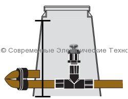 Вакуумный клапан для капельного орошения и емкостей (XBER-12)