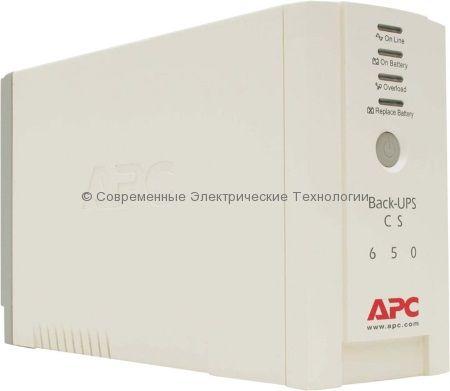 Источник бесперебойного питания APC Back-UPS BK650EI
