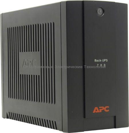 Источник бесперебойного питания APC Back-UPS 700VA BX700UI