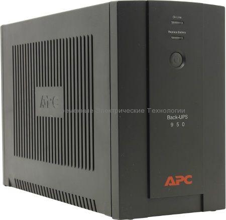 Источник бесперебойного питания APC Back-UPS 950VA BX950UI
