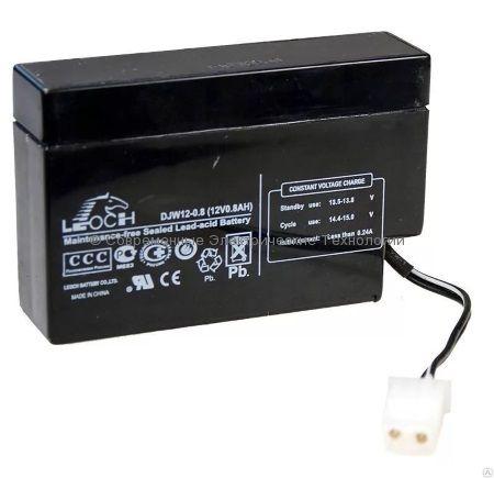 Аккумулятор Leoch 12В 0.8Ач (DJW12-0,8)