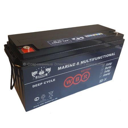 Аккумулятор тяговый герметичный 12В 200Ач (MB 200-12 WBR)