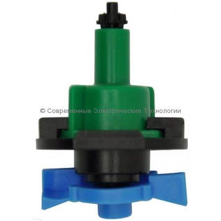 Подвесной микроспринклер 34л/час радиус 1.3м зелёный (MS8030)