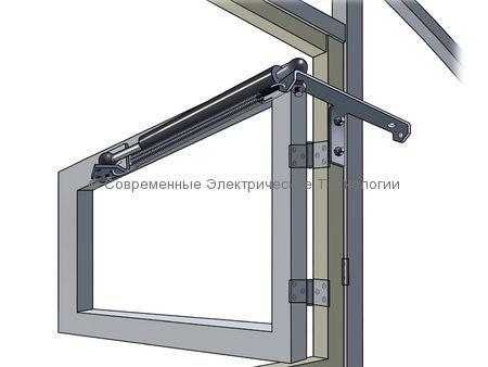 Термопривод проветривания теплицы (Комфорт АЭРО-100)