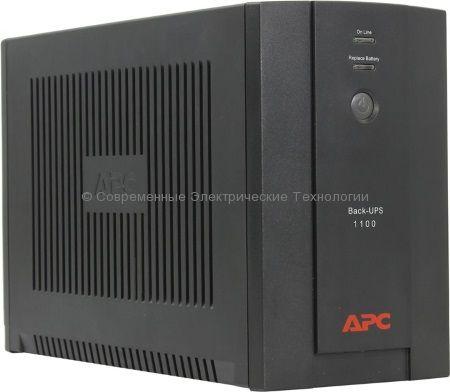 Источник бесперебойного питания APC Back-UPS 1100VA BX1100LI