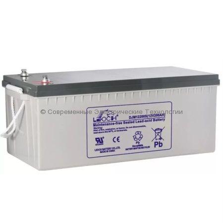 Аккумулятор Leoch 12В 200Ач (DJM 12200)