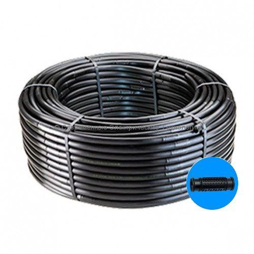 Не компенсированная капельная трубка PoliDrip 16мм 33см 4л/час 0.9мм (300м)