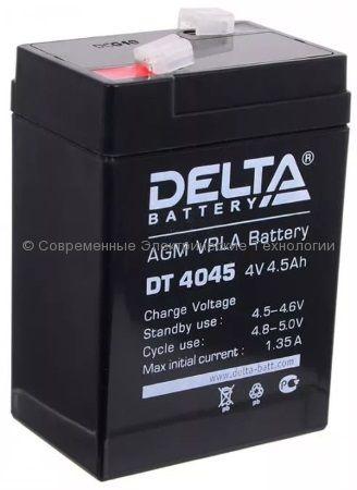 Аккумуляторная батарея DELTA 4В 4.5Ач (DT 4045)