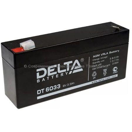 Аккумуляторная батарея DELTA 6В 3.3Ач (DT 6033 (125))