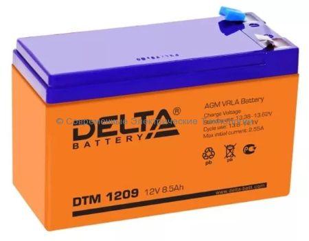 Аккумуляторная батарея DELTA 12В 9Ач (DTM 1209)