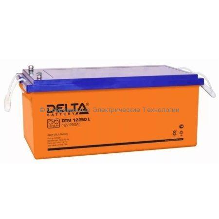 Аккумулятор DELTA 12В 250Ач (DTM 12250 L)