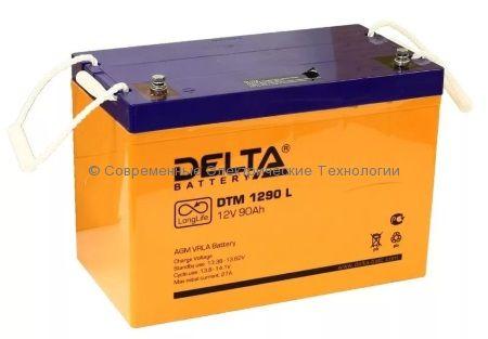 Аккумулятор DELTA 12В 90Ач (DTM 1290 L)