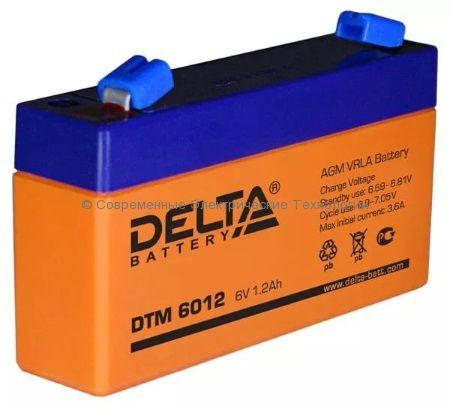 Аккумуляторная батарея DELTA 6В 1.2Ач (DTM 6012)