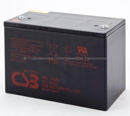 Аккумулятор герметичный CSB 12В 88Ач (GPL 12880)