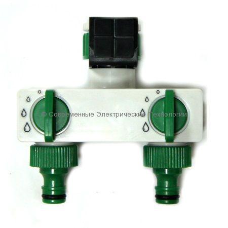 Разветвитель на 2 выхода для садового шланга (HC0402)