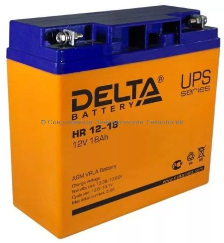 Аккумулятор DELTA 12В 18Ач (HR 12-18)