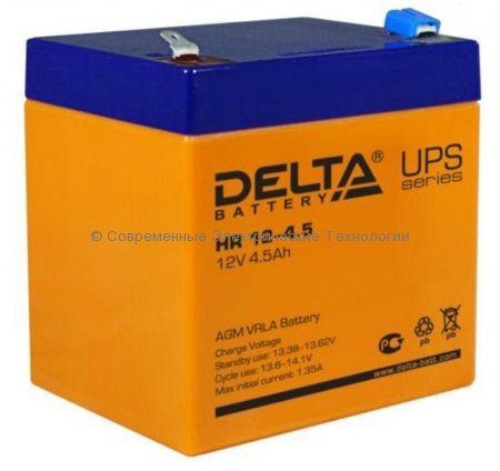 Аккумулятор DELTA 12В 4.5Ач (HR 12-4.5)