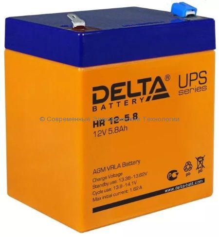 Аккумулятор DELTA 12В 5.8Ач (HR 12-5.8)