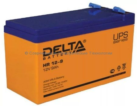 Аккумулятор DELTA 12В 9Ач (HR 12-9)