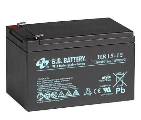 Аккумулятор герметичный BB Battery 12В 13Ач (HR 15-12)