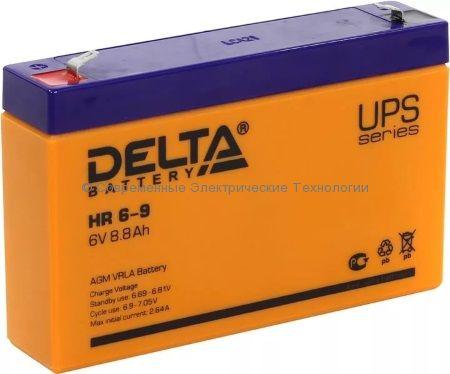 Аккумулятор DELTA 6В 9Ач (HR 6-9, 634W)