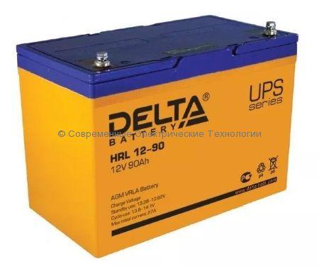 Аккумулятор DELTA 12В 90Ач (HRL 12-90)