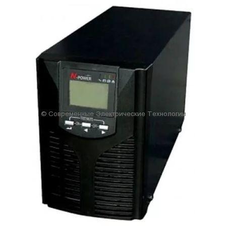 Источник бесперебойного питания N-Power Pro-Vision Black M1000 P 1000ВА/900Вт
