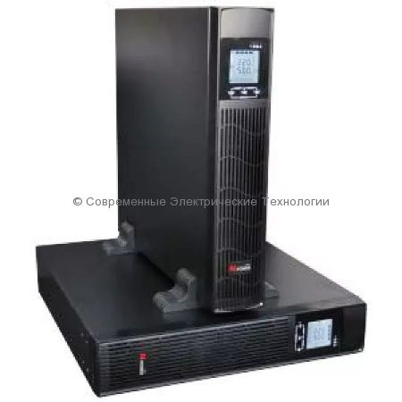 Источник бесперебойного питания N-Power Pro-Vision Black M1000 P RT 1000ВА/900Вт