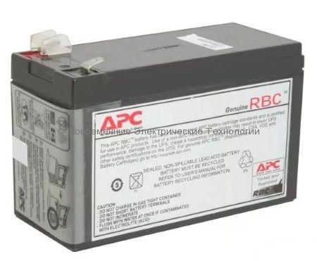 Аккумулятор (Батарея) для ИБП APC APCRBC110