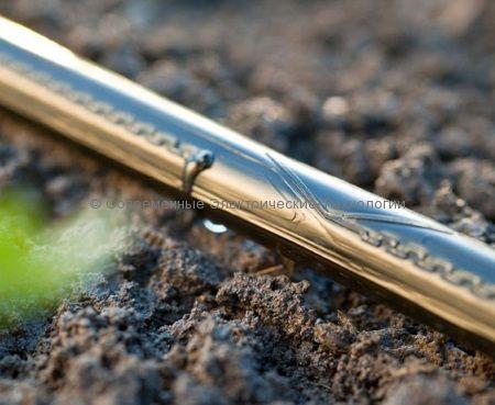 Капельная лента щелевая 8mil д.16мм шаг 10см расход 1.2л/час (бухта 500м)